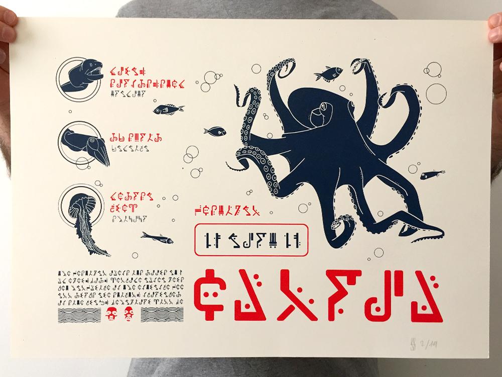 sebva sérigraphie artisanale affiche