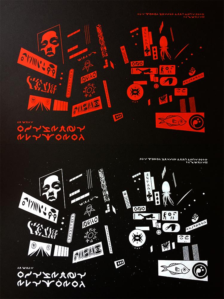 sebva serigrafia cartel